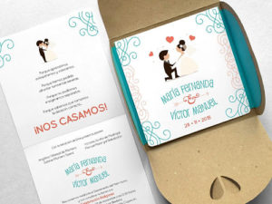 invitaciones de boda al civil