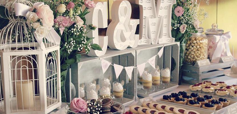 mesa dulces boda