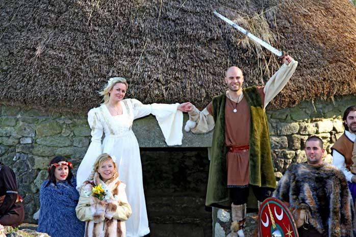 boda celta ritual