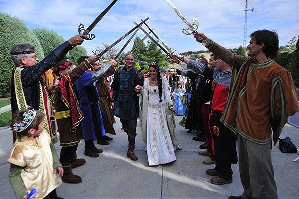 boda medieval precio