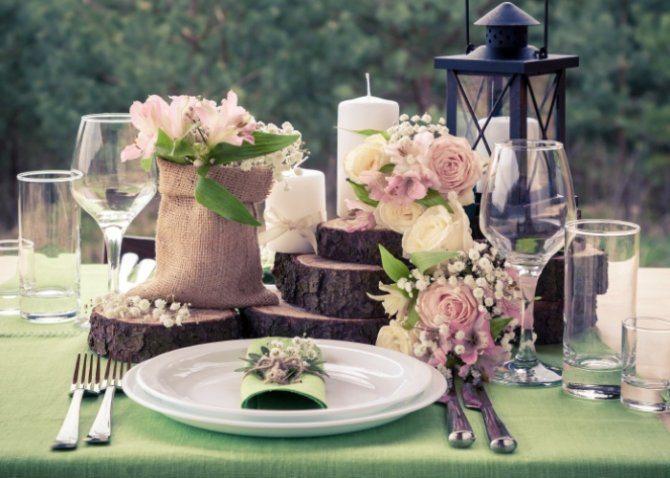 boda vintage en salon