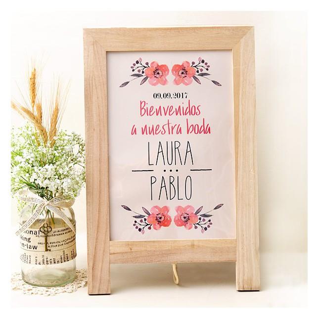 carteles de boda para fotos