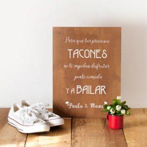 carteles boda amazon