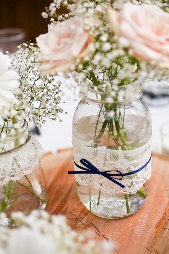 centros de mesa boda civil