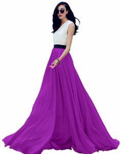 falda larga blanca boda