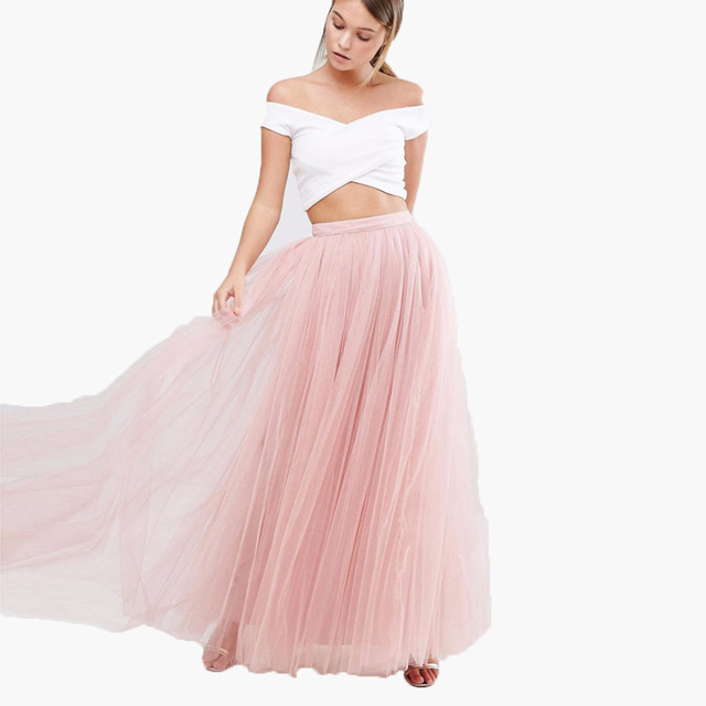 falda larga boda el corte ingles