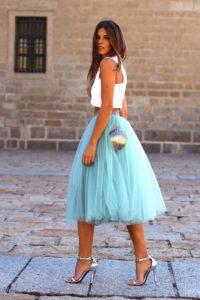 falda midi boda el corte ingles