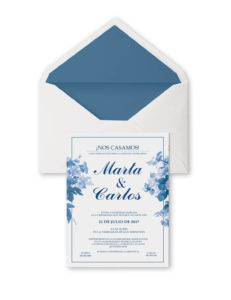 invitaciones de boda civil