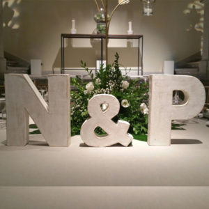 letras de boda alquiler
