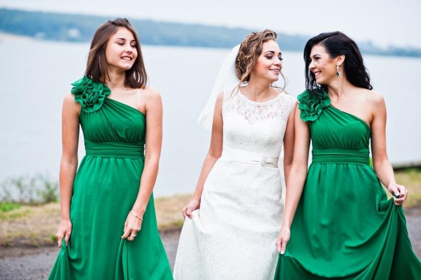 madrinas de boda jovenes