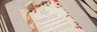 Minutas boda