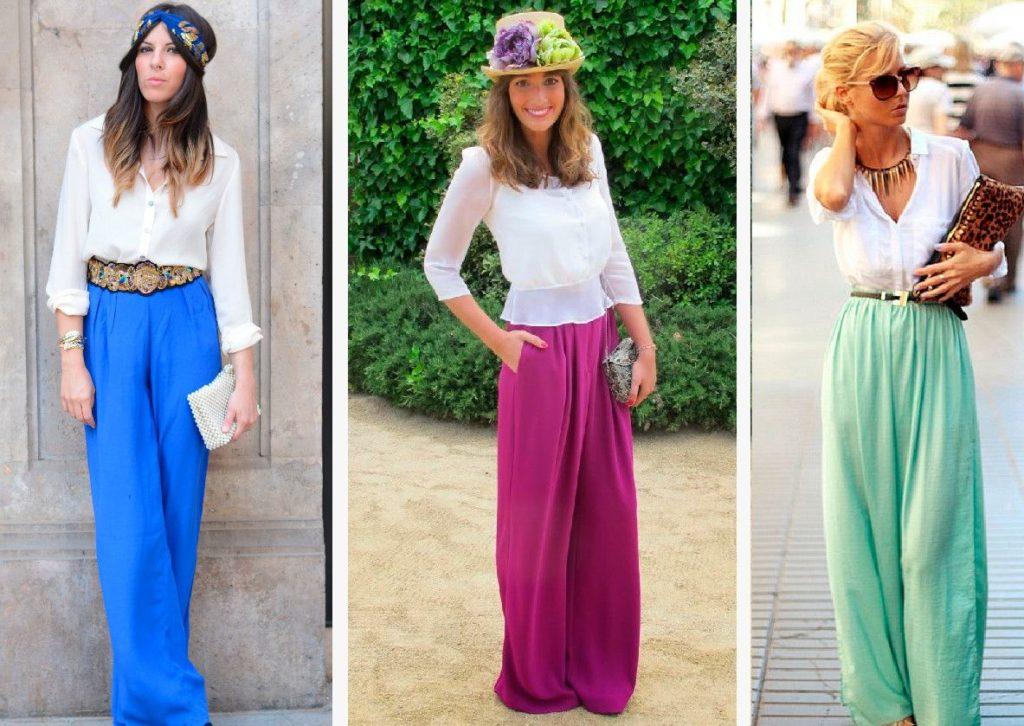 pantalones palazzo boda madrid