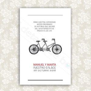 tarjetas de invitacion boda