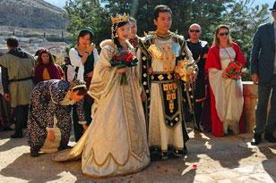 boda medieval barcelona